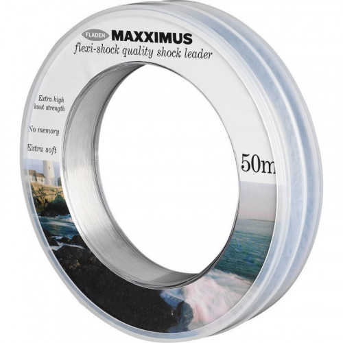 Maxximus Flexi-shock leader 50m 1.00mm