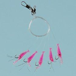 Living shrimp 5 hooks 1/0 0.47mm/0.43mm