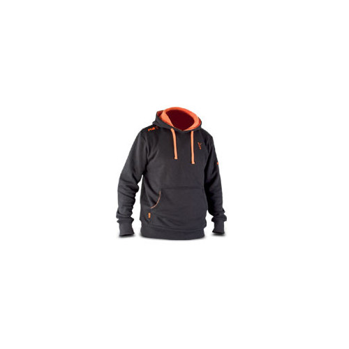 Black & Orange Hoody - M