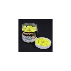 Plávajúce fluo boilies 250ml - Broskev & Black Pepper 14mm