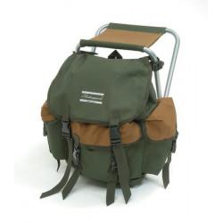 Stolička X s ruksakom