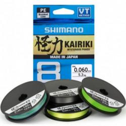 Kairiki 8 0,10 mm/6,5 kg/150 m zelená