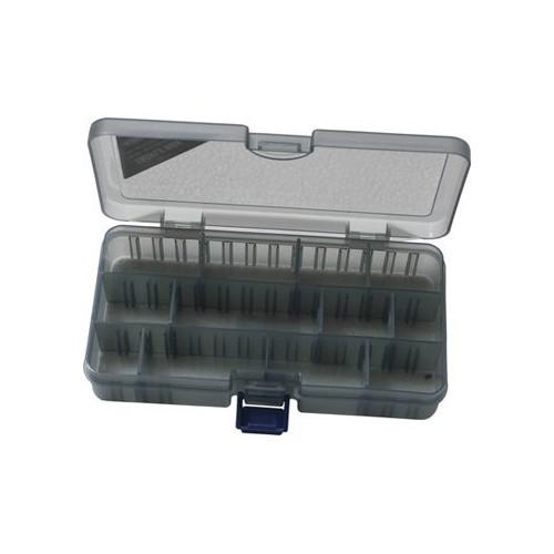Tackle box smoke 12comp 18.6x10.3x3.4cm