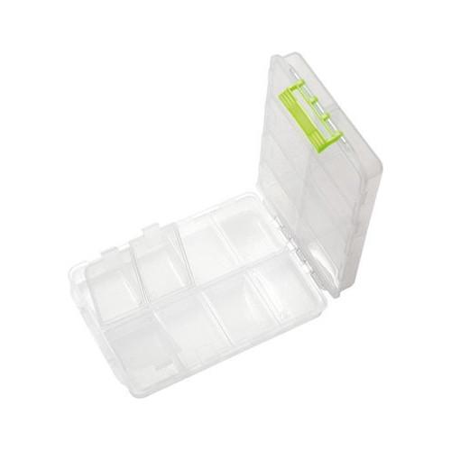 Tackle box 8x2 comp 15x10.5x3.5cm