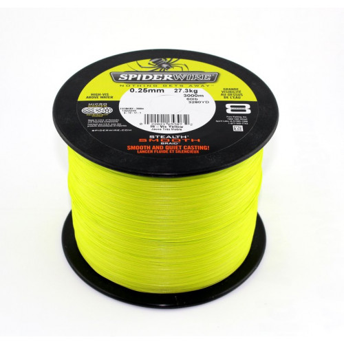 Stealth Smooth8 Yellow 0,30mm 1800m