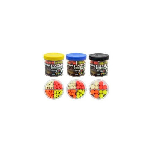 Quatro Fluo Pop Up Boilies 8mm