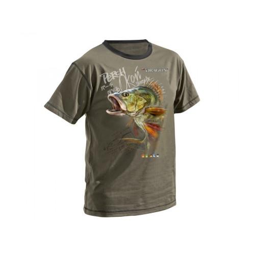 Tričko Dragon ostriež oliva