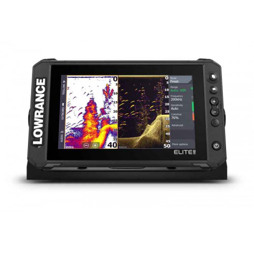 Sonar Lowrance Elite FS™ 9 so sondou Active Imaging 3-v-1