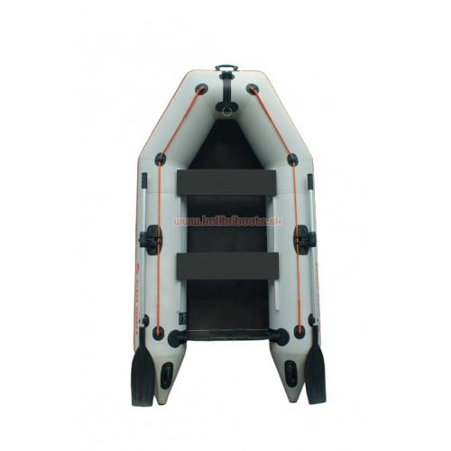 Čln Kolibri KM-260P pevná podlaha sivý