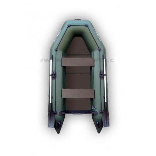 Čln Kolibri KM-280P pevná podlaha zelený