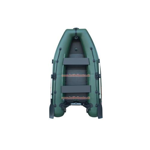 Čln Kolibri KM-280DL pevná podlaha zelený