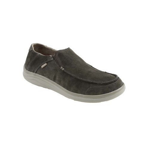 Westshore Leather Slip On Shoe Dark Olive 09