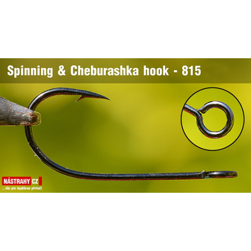 Háčik Spinning & Cheburashka 815 veľ. 8