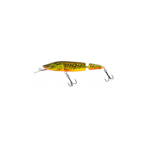 Pike Jointed Deep Runner 13cm Hot Pike PE13JDR
