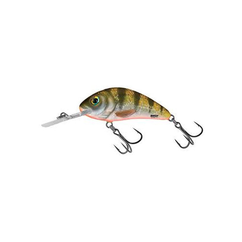 Rattlin´ Hornet Floating 6,5cm Yellow Holographic Perch H6,5F