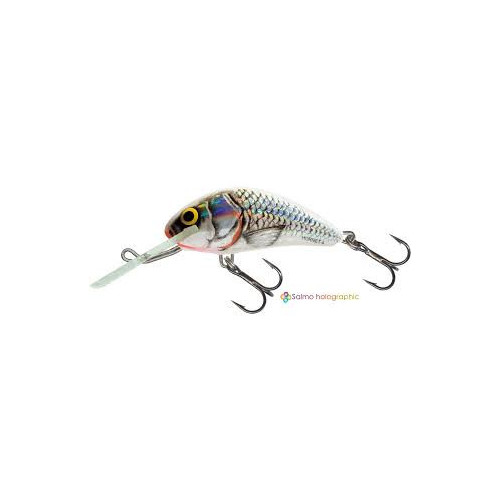 Rattlin´ Hornet Floating 6,5cm Silver Holographic Shad H6,5F