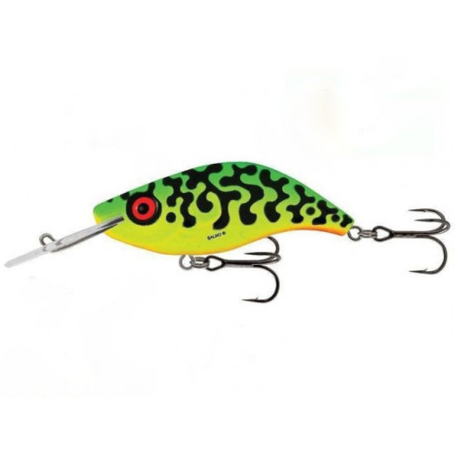 Sparky Shad 4cm Green Tiger SS4S