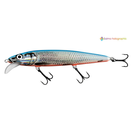 Whacky Floating 12cm Silver Blue WY12