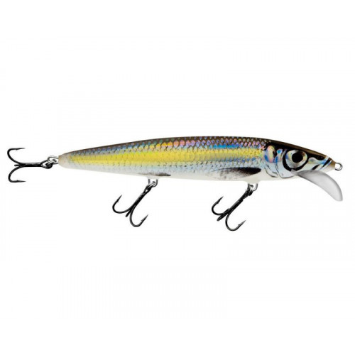 Whacky Floating 15cm Silver Chartreuse Shad WY15