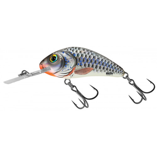 Rattlin´ Hornet Floating 5,5cm Silver Holographic Shad H5,5F