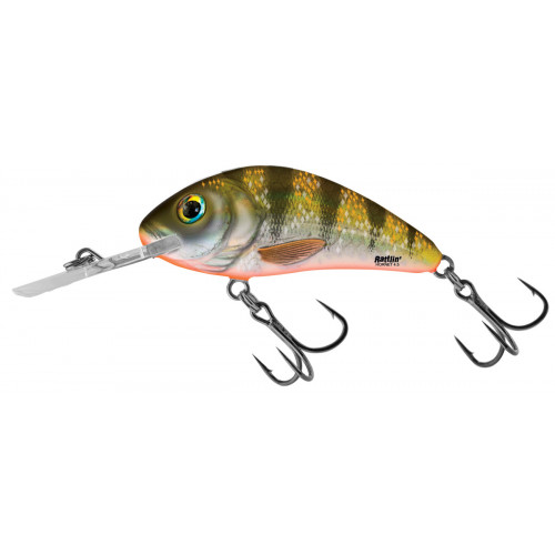 Rattlin´ Hornet Floating 5,5cm Yellow Holographic Perch H5,5F