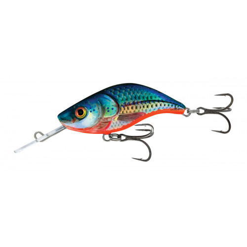 Sparky Shad 4cm Blue Holographic Shad SS4S