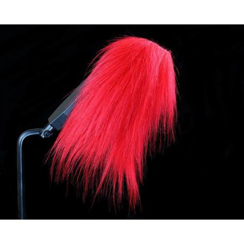 Craft Fur Long, Fire Red, 100x140 mm
