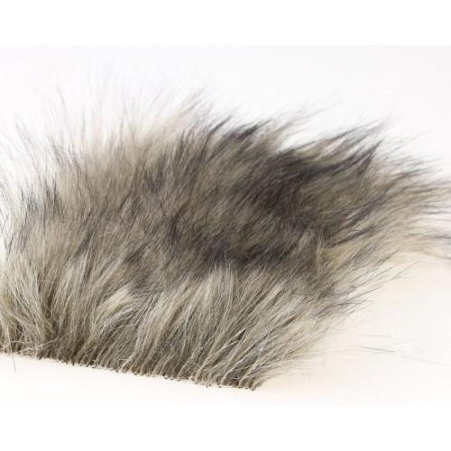 Craft Fur Medium, Dark Beige Fur 100x140mm