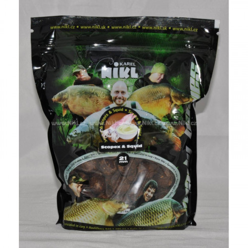 Ready boilies Scopex & Squid 18mm 250g