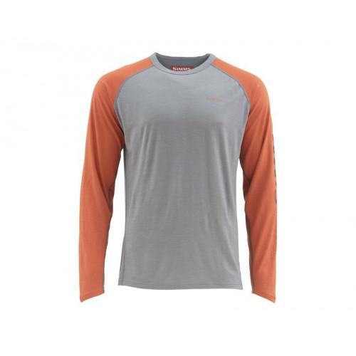 Ultra-wool Core Top Simms Orange