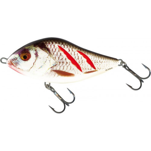 Slider Sinking 7cm Wounded Real Grey Shiner  SD7S