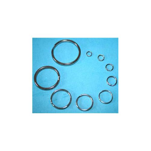 Fladen Split Rings 8mm 20ks