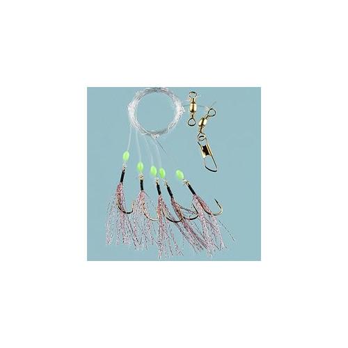 Sundet Herring 5-hooks size 1/0 Pink