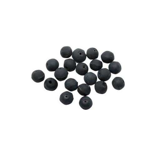 Ribber beads - 10pcs