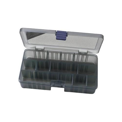Tackle box smoke 12comp 21.4x11.8x4.5cm