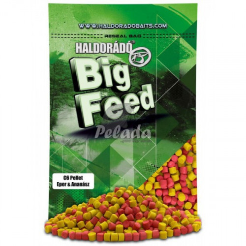 Big Feed - C6 Pellet -6mm  2500g