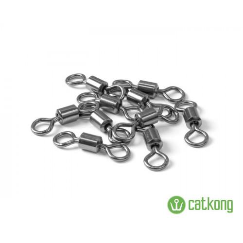 Sumcové obratlíky CATKONG 10ks 165kg 6/0