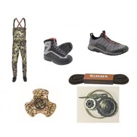 Brodiace nohavice, topánky a doplnky