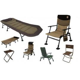 Stoličky, kreslá, lehátka a doplnky